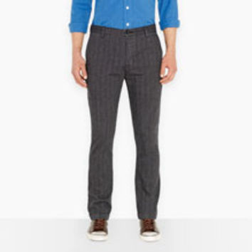 Levi's Black Straight Fit Chinos - Men's