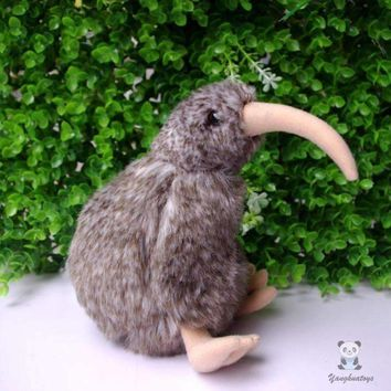 Kiwi Bird Stuffed Animal Plush Toy 6""