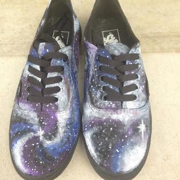 Galaxy Star Wars Vans Hand Painted Shoes