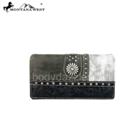 Montana West Concho Collection Secretary Style Wallet