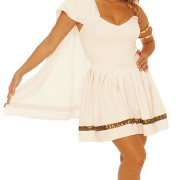 Caesars Girl Large Costume for Halloween 2017