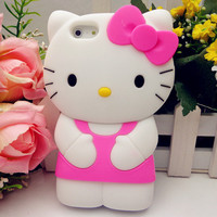 Hello Kitty Soft Silicone Back Case Iphone 5