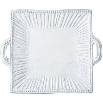 Incanto Stripe Square Handeled Platter
