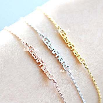 best friend bracelet, best friend, woman bracelet, girls bracelet, graduation, friendship bracelet, prom jewelry, bridesmaid gift