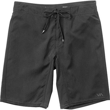 RVCA Mens Stretch Solid Swim Trunks