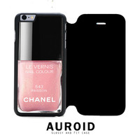 Chanel Nail Polish Frisson iPhone 6S Plus Flip Case Auroid