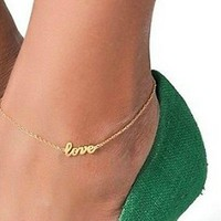 Love Ankle Bracelet