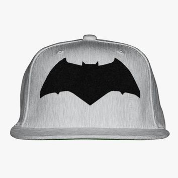 Batman Embroidered Snapback Hat