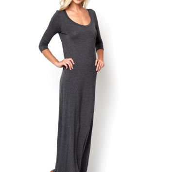 Lazy Sunday Maxi Dress - Lucky Duck Boutique