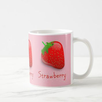 My Strawberry Mug --- Coffee cup