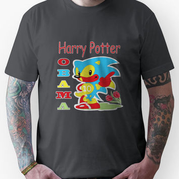 Harry Potter Obama Sonic Unisex T-Shirt