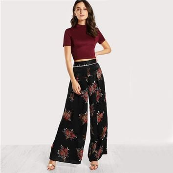 Sexy Lace  Back T-Shirt Fitted Tee Women  Vintage Cut Slim Crop Tops  Fashion