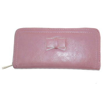 Pink Bow Wallet