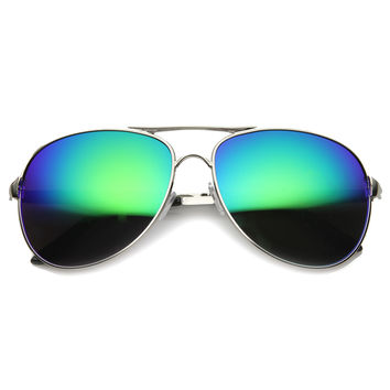 Unisex Butterfly Sunglasses With UV400 Protected Mirrored Lens