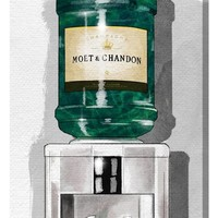 Oliver Gal Champagne For Days Canvas Print | Nordstrom