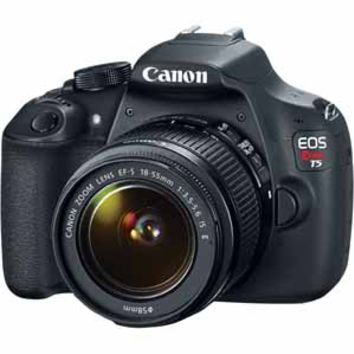 Canon Rebel T5 18-55mm 18MP DSLR With Digic 4 Processor