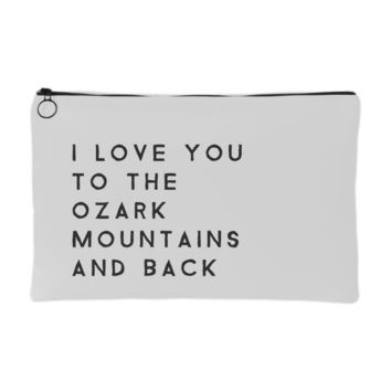 Ozark Mountains Makeup Pouch | The Inked Elephant