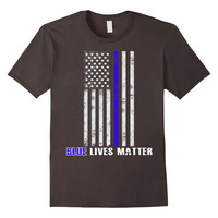 Blue lives matter Thin Blue Line Shirt Support Police