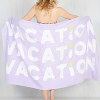 Third Time Off's a Charm Beach Towel | Mod Retro Vintage Decor Accessories | ModCloth.com