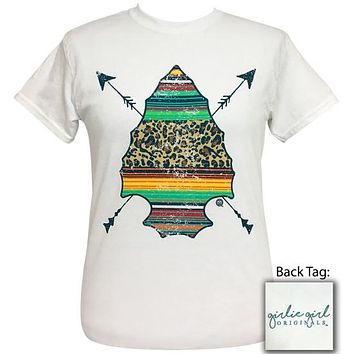 Girlie Girl Originals Preppy Serape Arrowhead T-Shirt