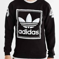 adidas Originals Multi Hit Crew Neck Sweatshirt- Black