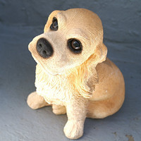 Cocker Spaniel Ceramic Coin Dog Bank