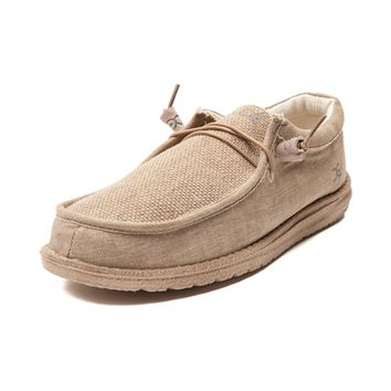 Mens Hey Dude Wally Matt Casual Shoe