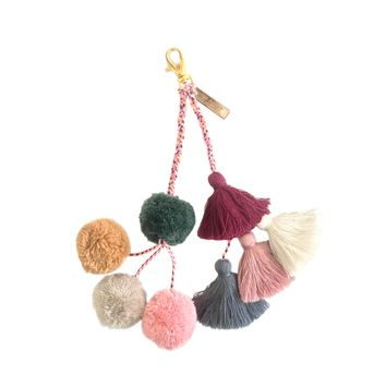 THE NOMAD TASSEL BAG CHARM