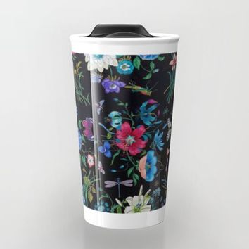 WILD FLOWERS Travel Mug by Salome