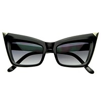 New York Designer Fashion Inspired Pointed Cat Eye Sunglasses 8181
