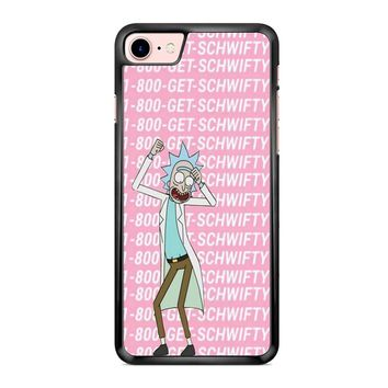 Rick Morty Get Schwifty iPhone 7 Case