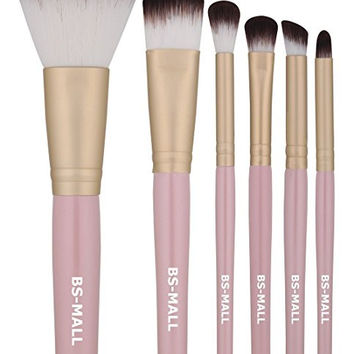 Trendy Eye Shadows Brush Makeup Brush Set With Pouch