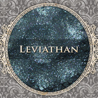 LEVIATHAN Mineral Eyeshadow: 5g Sifter Jar, Deep Teal with Blue Duochrome, VEGAN Cosmetics, Shimmer Eye Shadow