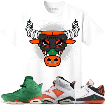 Jordan 6 Gatorade Sneaker Tees Shirt to Match - BULLY