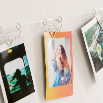 Matte Triangle Photo Clips String Set - Urban Outfitters