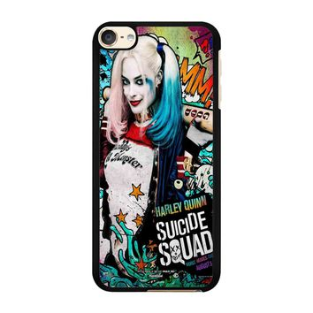 Suicide Squad Poster Harley Quinn iPod Touch 6 Case