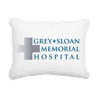 Grey Sloan Rectangular Canvas Pillow> Grey + Sloan Memorial Hospital> Grey's Anatomy TV Store