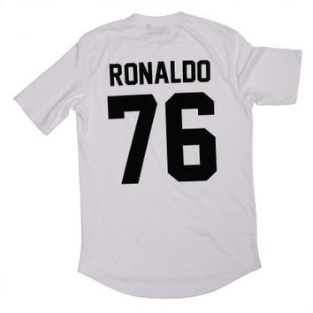 Ronaldo 76 Legends Shirt White - BALR.