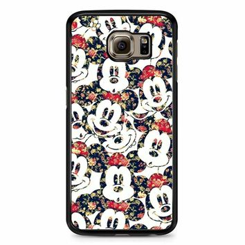 Mickey Mouse Wallpaper Samsung Galaxy S6 Case