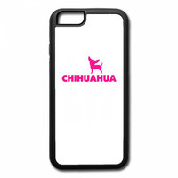 a chihuahua is my bff t shirt design 1 iPhone 6/6s Rubber Case