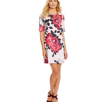 CeCe by Cynthia Steffe Romantic Flower Dress | Dillards