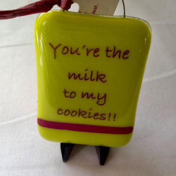 You're the Milk to My Cookies Mini Stand-up Plaque