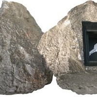 RocLok Hide A Key St. Helens Key Storage Box Disguised as a Rock with Set-Your-Own Combination Lock