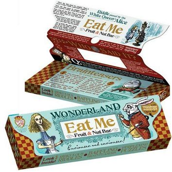 Eat Me Bar - Alice in Wonderland Fruit & Nut Bar - also an activity kit! - Whimsical & Unique Gift Ideas for the Coolest Gift Givers
