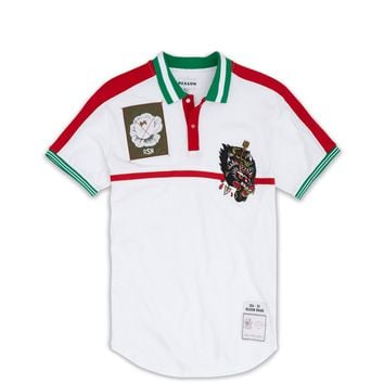 WOLFPACK POLO-WHITE
