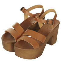 NELSON Chunky 2 Part Sandals - Heels - Shoes - Topshop USA