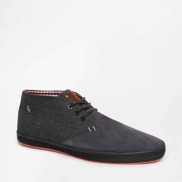 Fish & Chips by Base London Felt Chukka Boots