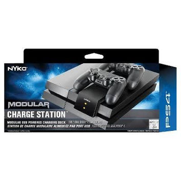 Nyko 83217 Modular Charge Station for DUALSHOCK 4 Wireless Controllers - Black