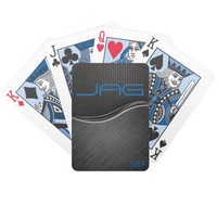 Black Carbon Playing Cards