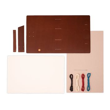 """DIY"" Good Book Leather Journal Kit"